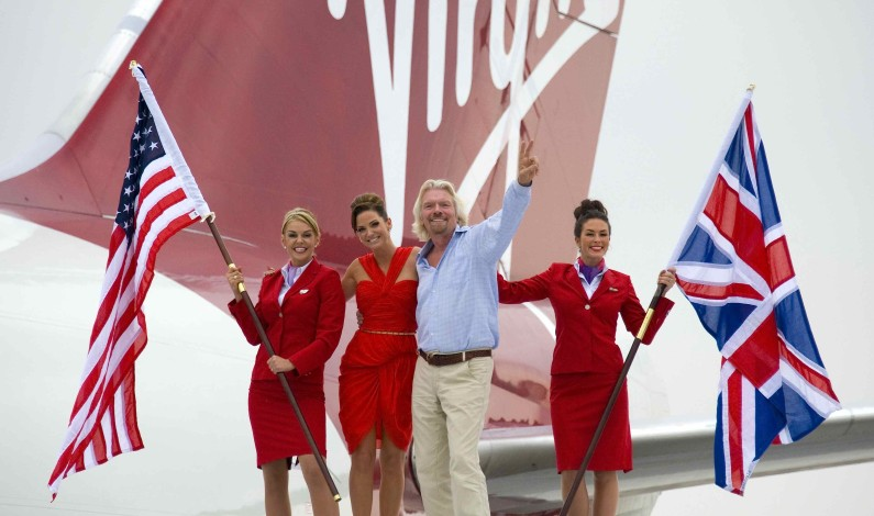 RICHARD BRANSON: MEKTIG MULTIMOGUL