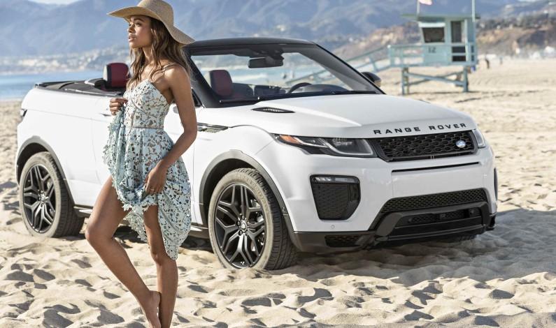 Toppløs Range Rover Evoque: SUV-kabriolet til alle årstider