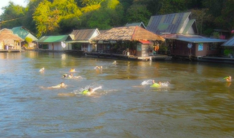 BODYRAFTING I RIVER KWAI